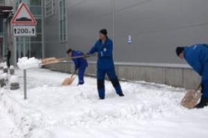 Уборка снега с прилегающих территорий, уборка территорий