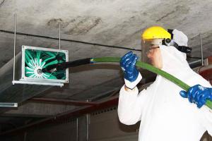 Чистка систем вентиляции и кондиционирования